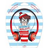 Little Star Where's Wally Childrens Headphones with reduced volume